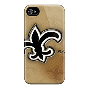 Shock Absorbent Hard Phone Case For Iphone 6 (OEW3638hkpe) Unique Design Fashion New Orleans Saints Pictures