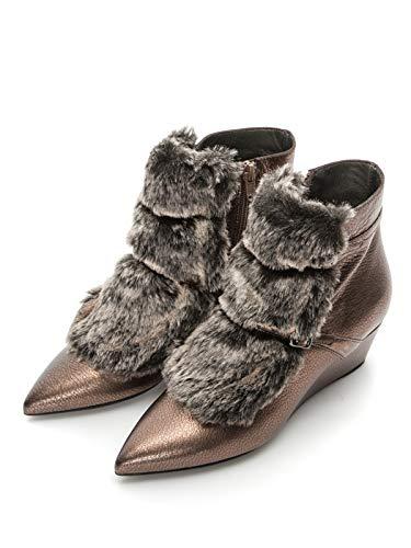 Piel Invierno Natural Geox 41 Botines De Eu Zapatos Mujer Sintética Con Para Ew100HYFxq