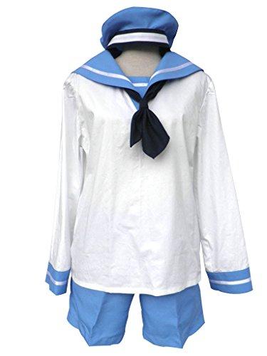 Mtxc Men's Hetalia: Axis Powers Cosplay Costume Italy 2nd Size XX-Large White (Hetalia Halloween Italy)