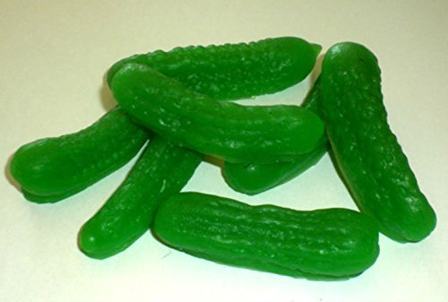 Pickle Soap - Pickle - 8 Soaps - Dill Pickle Scented - Baby Showers - Party Favors - Birthdays - FREE SHIPPING (Pickle Soap compare prices)