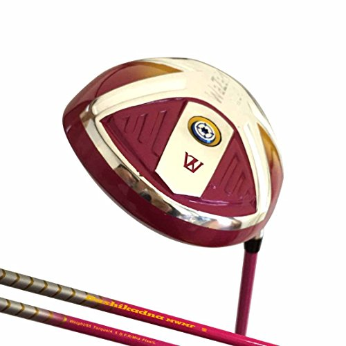 Japan Wazaki WL-IIs Lady Titanium 460cc USGA PGA Rule Golf Club Driver +Leather Cover(12.5 degree, L flex,240 cpm, Right Handed) (Right Handed Golf Drivers)