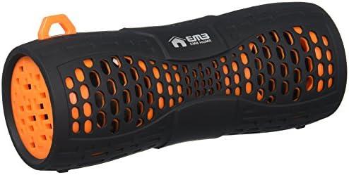 EMB ES900BT-X1 Water Resistant Super Loud Portable Bluetooth Speaker - Black On Orange