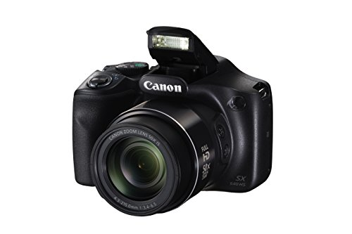 Canon PowerShot SX540 Digital Camera w/ 50x Optical Zoom - Wi-Fi & NFC Enabled (Black) ()