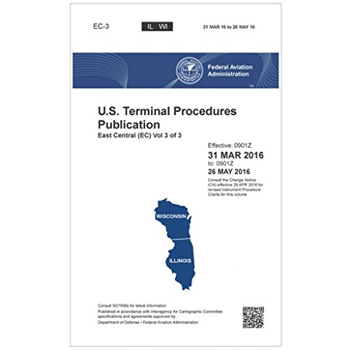 FAA IFR Terminal Procedures Bound East Central (EC) Vol 3 of 3 (Always Current Edition)