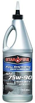 StarFire Full Synthetic 75W90 Gear Lubricant 5 Gallon Pail StarFire Premium Lubricants SF F/S 75W90 GL 5 Gallon