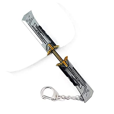 Amazon.com: Marvel Avengers 4 Endgame Thanos Sword Keychains ...