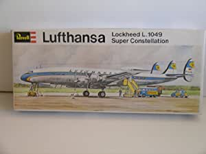 "Revell ""Lufthansa Lockheed L.1049 Super Constellation"" Plastic Model Kit"