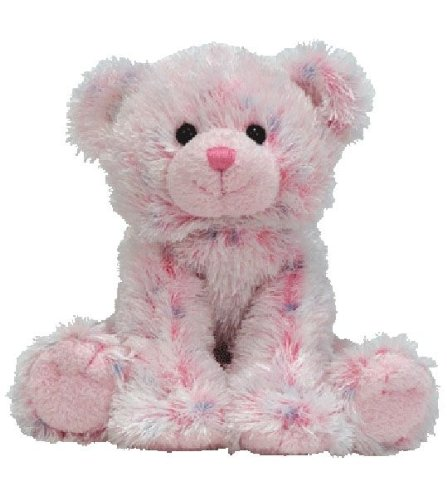 TY Beanie Babies Ticklish  - pink multi bear for sale  Delivered anywhere in USA