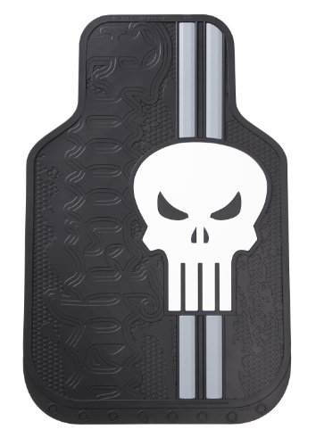"Plasticolor 001486R01 Marvel ""Punisher"" Floor Mat Set"