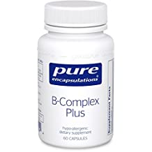 Pure Encapsulations, B-Complex Plus (with Metafolin L-5-MTHF), 60 Capsules