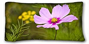 Custom Characteristic Nature Custom Cotton & Polyester Soft Rectangle Pillow Case Cover 20x36 inches (One Side) suitable for Twin-bed