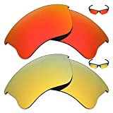 Mryok 2 Pair Polarized Replacement Lenses for
