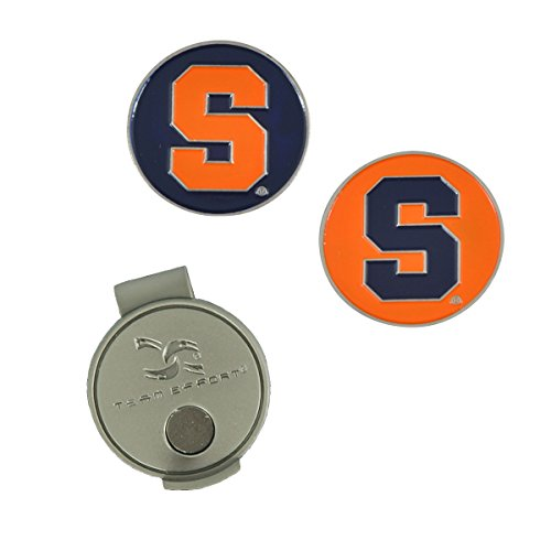 Team Effort Syracuse Orangemen Hat Clip & 2 Ball Markers