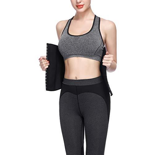 Allywit Women Petite Steel Boned Waist Trainer Underbust Corset Short Torso Mesh Body Shaper by Allywit (Image #6)