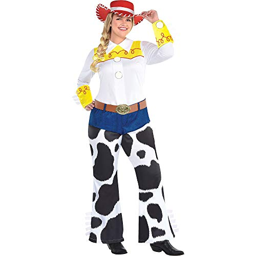 Party City Jessie Halloween Costume for Women, Toy Story 4, Plus Size, with Accessories -
