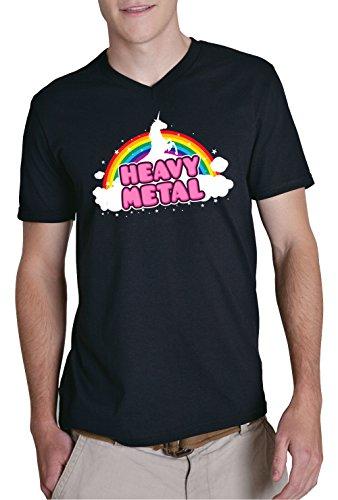 Heavy Metal V-Neck Black Certified Freak