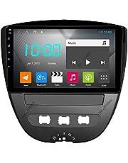 Android 10.0 Auto Stereo Dubbel Din voor Citroen C1 2005-2014 GPS Navigatie 9 Inch Head Unit Touchscreen MP5 Multimedia speler Radio Video Ontvanger met 4G WIFI DSP