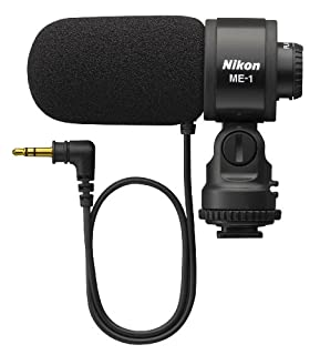 Nikon 27045 ME-1 Stereo Microphone Supplied with Wind Screen and Soft Case (B004V6BQ3O) | Amazon price tracker / tracking, Amazon price history charts, Amazon price watches, Amazon price drop alerts
