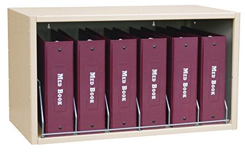 Omnimed  266006-BG Cubbie File Storage Rack with 6 Capaci...