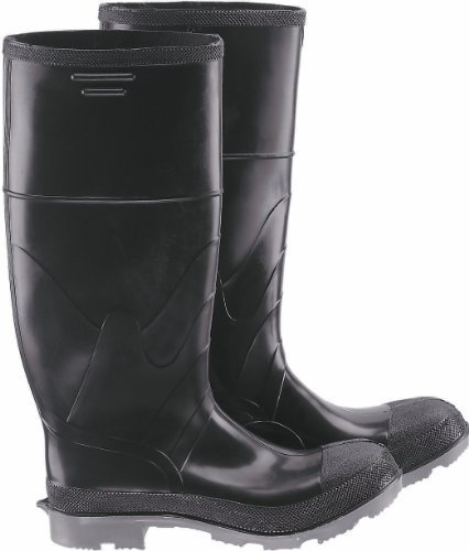 ONGUARD 86101 Polyurethane/PVC Polyblend Men's Plain Toe Knee Boots with Cleated Outsole, 16 Height, Size 10 by ONGUARD Industries