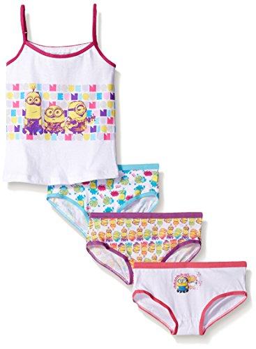Universal Girls Minions 3-Pack Underwear and Tank Set