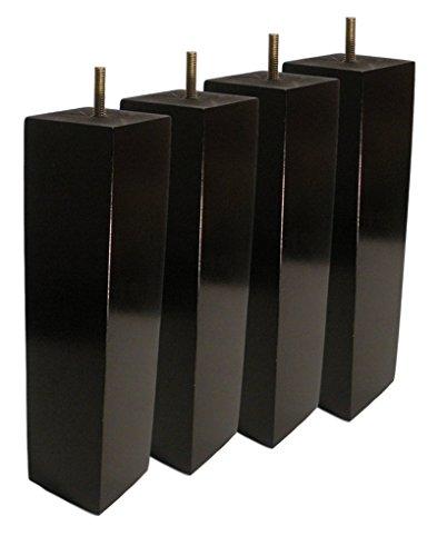 BingLTD 10'' Square Expresso Hardwood Sofa Legs - Set of 4 (ST2510-210-FBA) by BingLTD (Image #6)