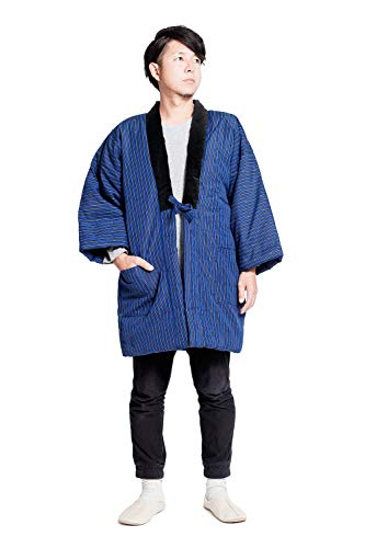 반(半)고지 않겠 구루메직 겉옷 맨즈 대형 일본제(MADE IN JAPAN) 중 면 남성 큰 사이즈 기프트 선물 경로의 날 옹격자감×연두색 /옹격자감×옥색/종줄무늬청×차 순입니다. 한텐 일본 방한복