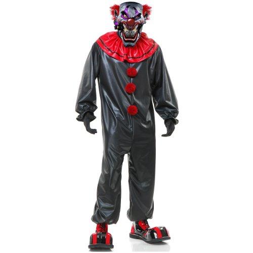 Smokin Joe Evil Clown Adult Costume - X-Small