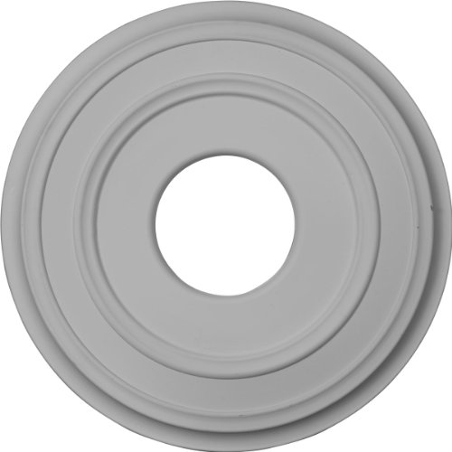 Ekena Millwork CM12CL Ceiling Medallion, Primed
