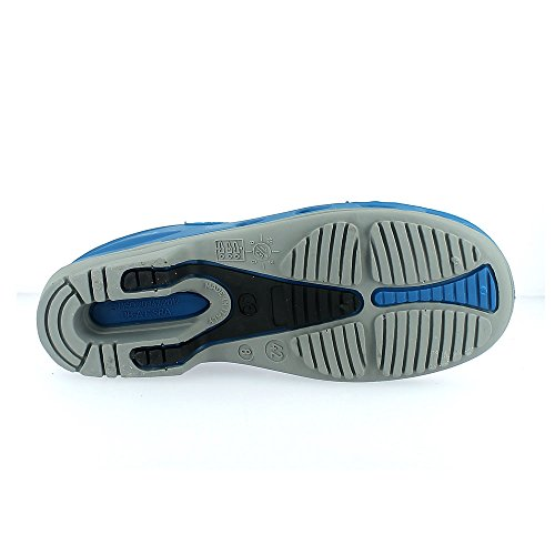 TROKLO' 141.0001 - Calzado de protección de goma para mujer Blu (Royal/Suola Grigio)