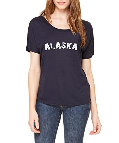 Ugo Alaska Home State Love Tavel Usa Fashion People Best Friend Couples Gifts The Womens Slouchy T Shirt