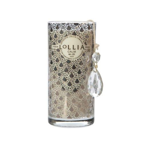 Lollia Calm No. 21 Hyacinth & Honey 10.25 oz Petite Perfumed Lumminary Candle