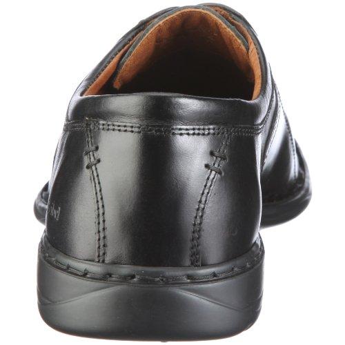 Josef Seibel Schuhfabrik GmbH Spike 33206 43 600 - Zapatos clásicos de cuero para hombre Negro (Schwarz (schwarz 600))