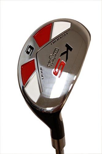 "Senior Men's Majek Golf All Hybrid Complete Full Set, which includes: #4, 5, 6, 7, 8, 9, PW +SW Senior Flex Right Handed New Rescue Utility ""A"" Flex Club by Majek (Image #7)"
