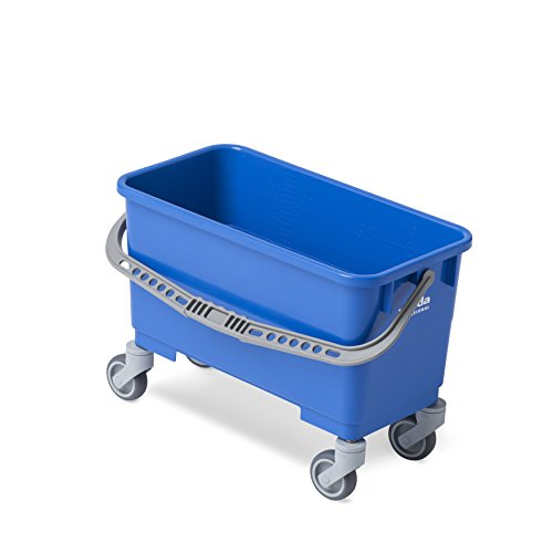 Vileda Professional Single Bucket with Casters by Vileda Professional
