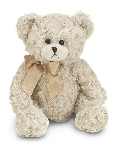 Bearington Baby Huggles Creamy White Plush Stuffed Animal Teddy Bear, 10 inches ()