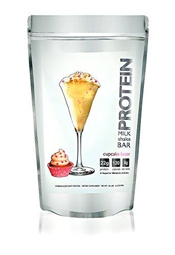 Protéine Milkshake Cupcake pâte poudre de protéine de lactosérum, 1,06 lb