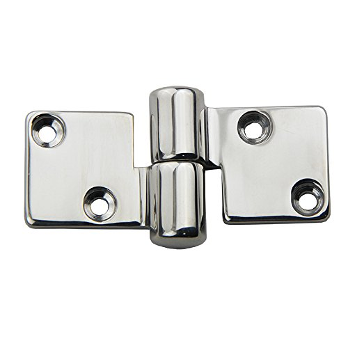 Stainless Steel Polished Left Hand Pull Apart Hinge Marine Boat Hardware Parts 2 Sets ()