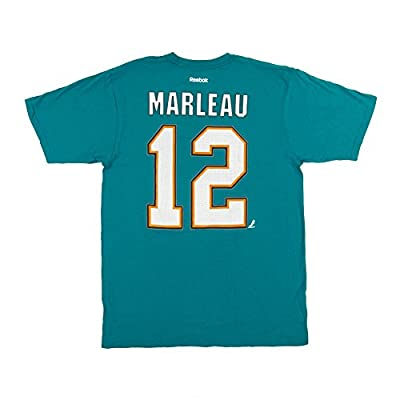 Patrick Marleau #12 San Jose Sharks Reebok Player T-Shirt - Teal