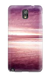 Galaxy High Quality Tpu Case/ Purple Nature PrsGXUy7356HUNku Case Cover For Galaxy Note 3