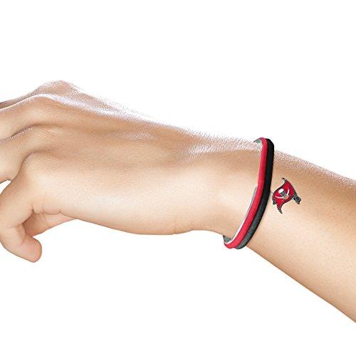 NFL Tampa Bay Buccaneers Hair Tie Bangle Bracelet