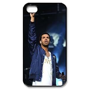 Unique Phone Case Design 15Rap Rap Singer Drake Pattern- For Iphone 4 4S case cover