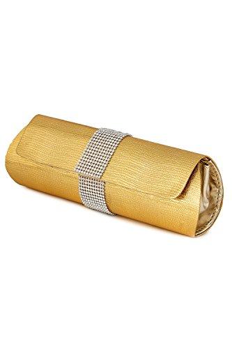 Kleio Women's Clutch (Gold)