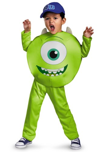 Disney Pixar Monsters University Mike Toddler Classic Costume, 3T-4T for $<!--$29.99-->