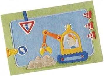 Kinderteppich haba  Amazon.de: Kinderteppich HABA Baustelle 150x100cm