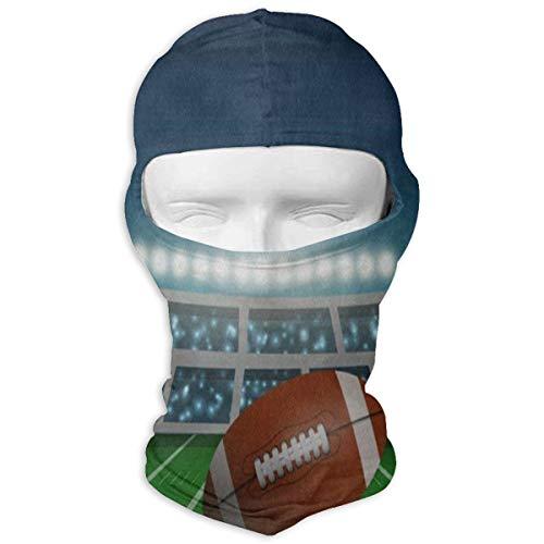 YIXKC Balaclava American Football Stadium Hot Ski and Winter Sports Headwear for Women -