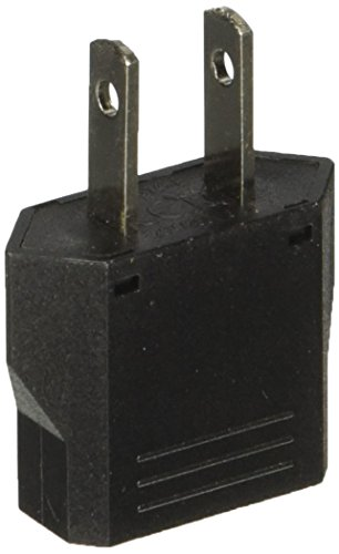 Price comparison product image Ckitze European to American USA Outlet Plug Adapter Socket (Black)