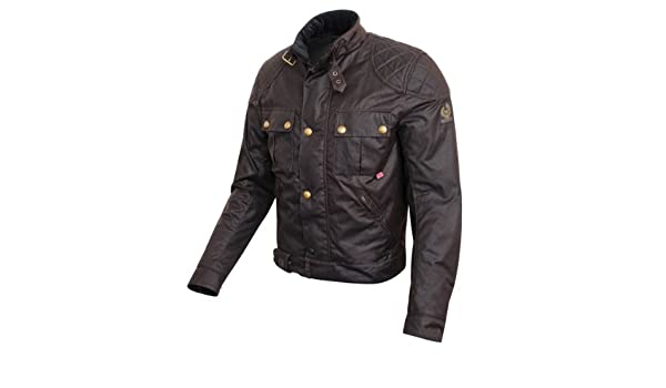 Belstaff Mojave 2.0 Wax - Chaqueta, color marrón: Amazon.es: Deportes y aire libre