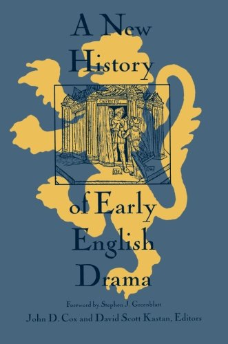 A New History Of Early English Drama  World Bank Comparative Macroeconomic