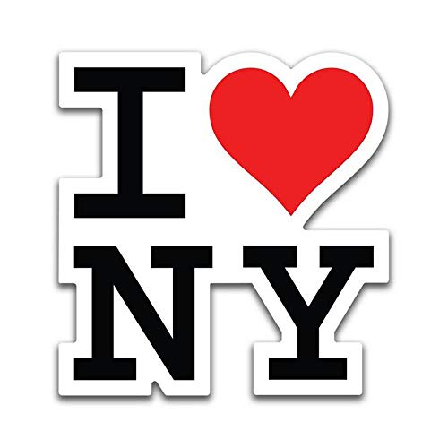 - More Shiz I Love New York Vinyl Decal Sticker - Car Truck Van SUV Window Wall Cup Laptop - One 5.5 Inch Decal - MKS0878